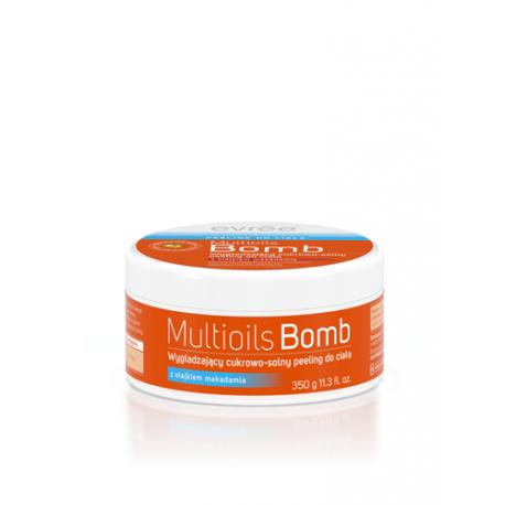 Evrēe - Multioils Bomb - Wygładzający cukrowo-solny PEELING do ciała 350g