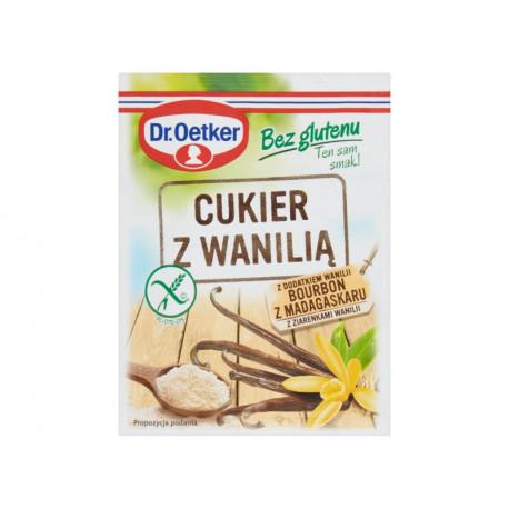 Dr. Oetker Cukier bez glutenu z wanilią 12 g