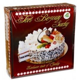 Tort bezowy suchy duży 600g