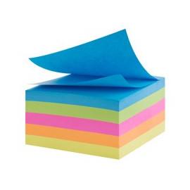 WM karteczki samoprzylepne 4x100  75x75 mm (kolor neon)
