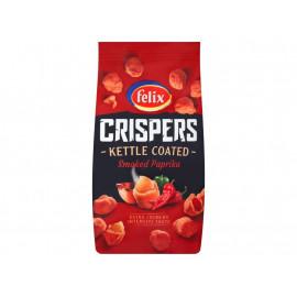 Felix Crispers Orzeszki ziemne smażone w skorupce o smaku paprykowym 140 g