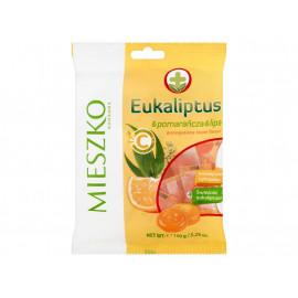 Mieszko Eukaliptus & pomarańcza & lipa Karmelki twarde 150 g