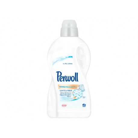 Perwoll renew Advanced Effect White & Fiber Płynny środek do prania 1,8 l (30 prań)