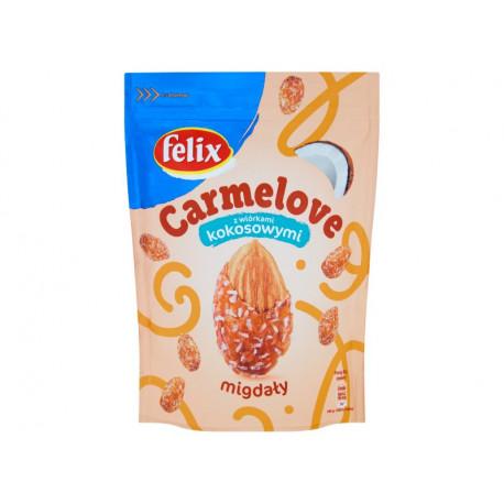 Felix Carmelove Migdały w karmelu z wiórkami kokosowymi 160 g
