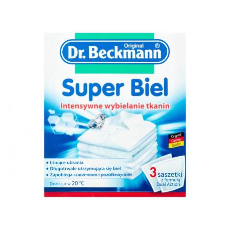 Dr. Beckmann Super Biel Intensywne wybielanie tkanin 3 x 40 g