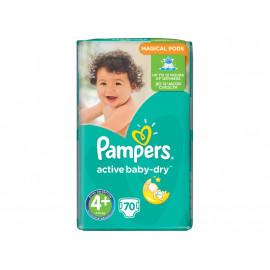 Pampers Active Baby-Dry rozmiar 4+ (Maxi+), 70 pieluszek