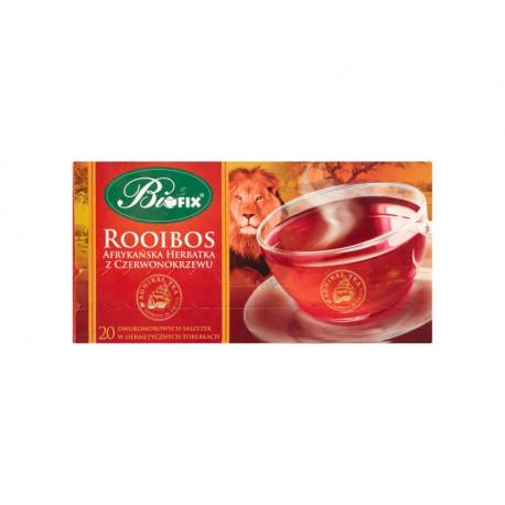 Bifix Admiral Tea Rooibos Afrykańska herbatka z czerwonokrzewu 40 g (20 saszetek)
