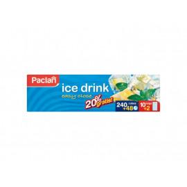 Paclan Woreczki do lodu samozamykające 12 sztuk