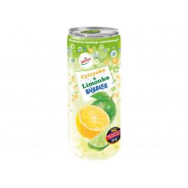 Hortex Bubbles Napój gazowany cytrynka i limonka 240 ml