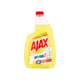 Ajax Optimal 7 Lemon Płyn do szyb 750 ml