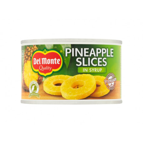 Del Monte Plastry ananasa w syropie 235 g
