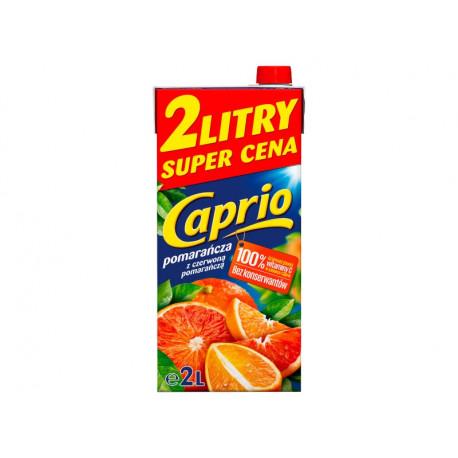 Caprio Napój pomarańcza z czerwoną pomarańczą 2 l