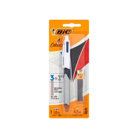 BiC 4 Colours 3+1 HB Długopis i ołówek automatyczny