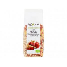 Symbio Musli truskawkowo-jabłkowe ekologiczne 300 g