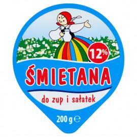 Łowicz Śmietana do zup i sosów 12% 200 g