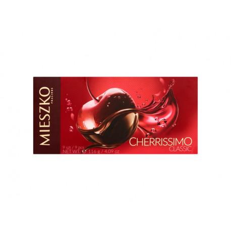 Mieszko Cherrissimo Classic Praliny z wiśnią w alkoholu 116 g