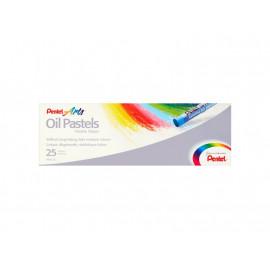 Pentel Arts Pastele olejne 25 kolorów