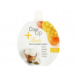 DayUp Pearls Owocowo-kokosowy deser z jabłkiem bananem mango kokosem i perłami tapioki 100 g