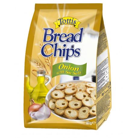 Tottis Bread Chips Onion | 80g