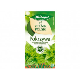 Herbapol Zielnik Polski Herbatka ziołowa pokrzywa 30 g (20 x 1,5 g)