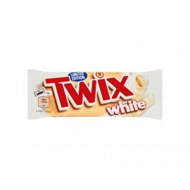 Twix White Ciasteczka oblane karmelem i białą czekoladą 46 g (2 x 23 g)