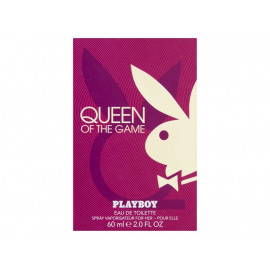 Playboy Queen of the Game Woda toaletowa dla kobiet 60 ml