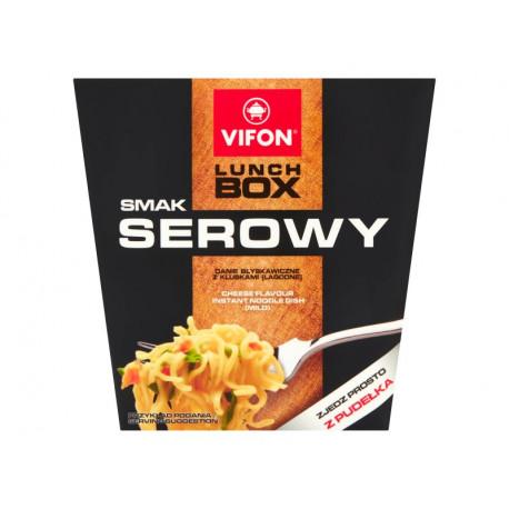 Vifon Lunch Box Danie błyskawiczne smak serowy 80 g