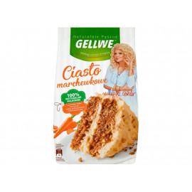 Gellwe Naturalnie Pyszne Ciasto marchewkowe mieszanka do wypieku 430 g