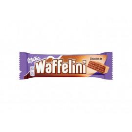 Milka Waffelini Chocomax Kakaowy wafelek z kremem kakaowym 31 g