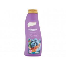 Luksja Sweets Blueberry Muffin Płyn do kąpieli 1000 ml