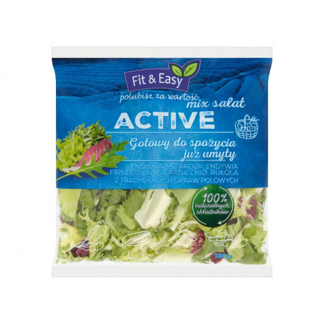 Fit & Easy Active Mix sałat 180 g
