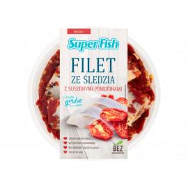 SuperFish Filety ze śledzia z suszonymi pomidorami 200 g