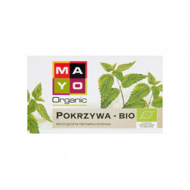 Mayo Organic Ekologiczna herbatka ziołowa pokrzywa 26 g (20 x 1,3 g)