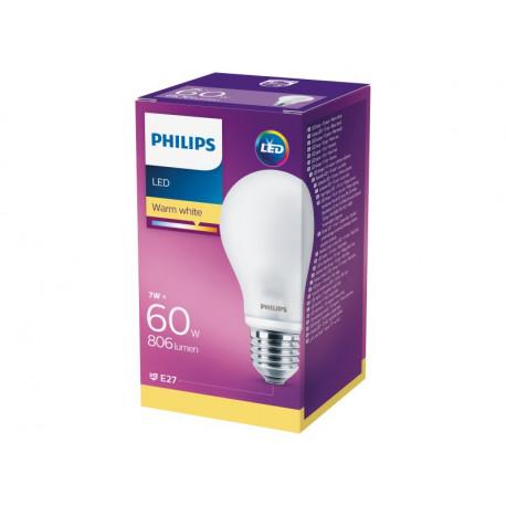 Philips Żarówka LED 7 W (60 W) E27 ciepłe białe światło