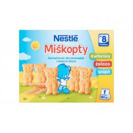 Nestlé Miśkopty Herbatniczki dla niemowląt i małych dzieci po 8 miesiącu 180 g