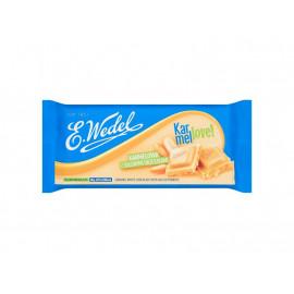E. Wedel Karmellove! Czekolada biała karmelowa z solonymi orzeszkami 90 g