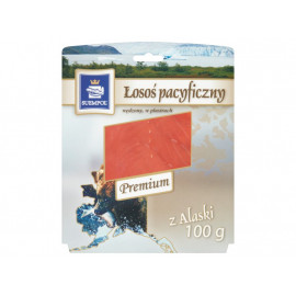Suempol Łosoś pacyficzny wędzony w plastrach premium 100 g
