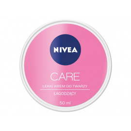 NIVEA Care 3w1 Lekki krem do twarzy łagodzący 50 ml