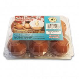 Słowik jaja z Lubelszczyzny z chowu klatkowego 6szt L