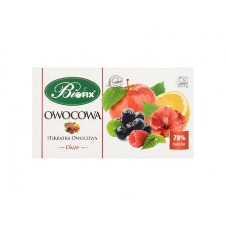 Bifix Classic Herbatka owocowa 50 g (25 x 2 g)