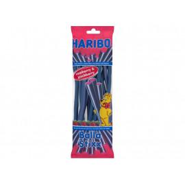 Haribo Balla Stixx Żelki owocowe o smaku malina i jeżyna 200 g