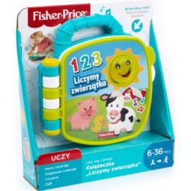 Fisher Price Ucz się i śmiej! Książeczka liczymy zwierzątka
