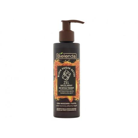 Bielenda Black Sugar Detox Żel micelarny do mycia twarzy detoksykująco-nawilżający 200 g