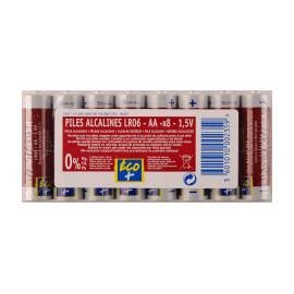 ECO+ Baterie alkaliczne AA LR06 1,5V 8 szt.