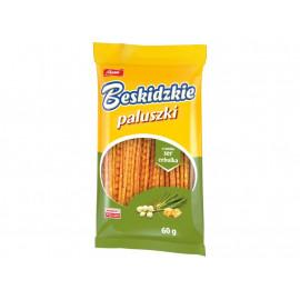 Aksam Beskidzkie Paluszki o smaku ser cebulka 60 g