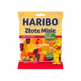 Haribo Złote Misie z sokiem Żelki owocowe 175 g