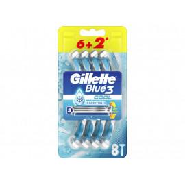 Gillette Blue3 Cool Maszynka jednorazowa z 3ostrzami x 8