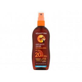 Kolastyna Odżywczy olejek do opalania SPF 20 150 ml