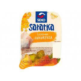 Seko Sałatka śledziowa z kukurydzą 150 g