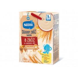 Nestlé Skarby Zbóż Kaszka mleczna manna po 4. miesiącu 250 g